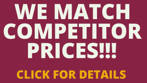 We Match Competitor Prices